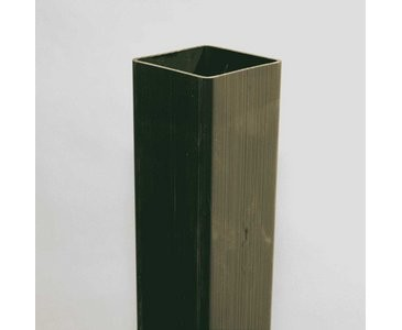 Pfosten für Sichtschutz Coventry grün, 195 x 10cm