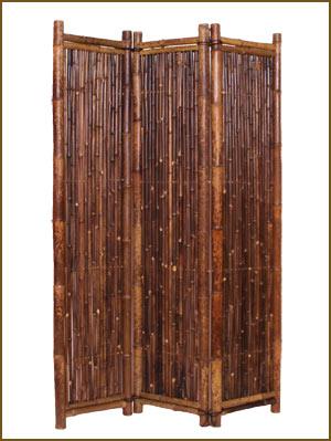 Bambus-Raumteiler