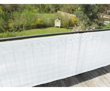 """PVC Sichtschutz """"Sunshine"""" satiniert Höhe 180cm x Länge 300cm"""
