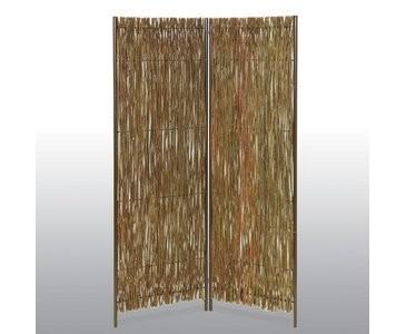 "Raumteiler ""Westerland"" Weide 160 x 130cm, 2-teilig"