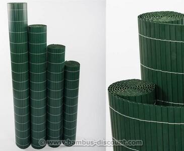 """Sichtschutzmatte PVC, """"Sylt"""" 140 x 200cm grün"""