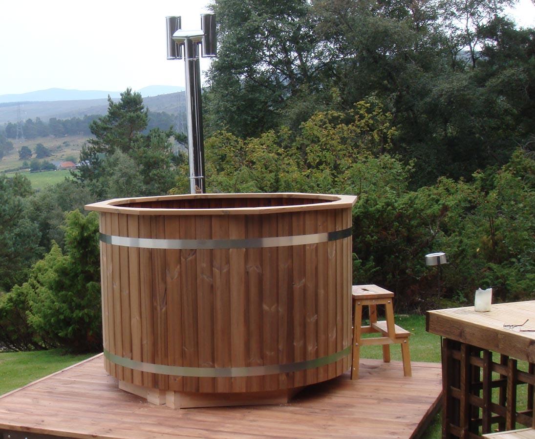 Hot Tub Spezial Set1 Holzofen Mit Durch 150cm Gunstig Bestellen