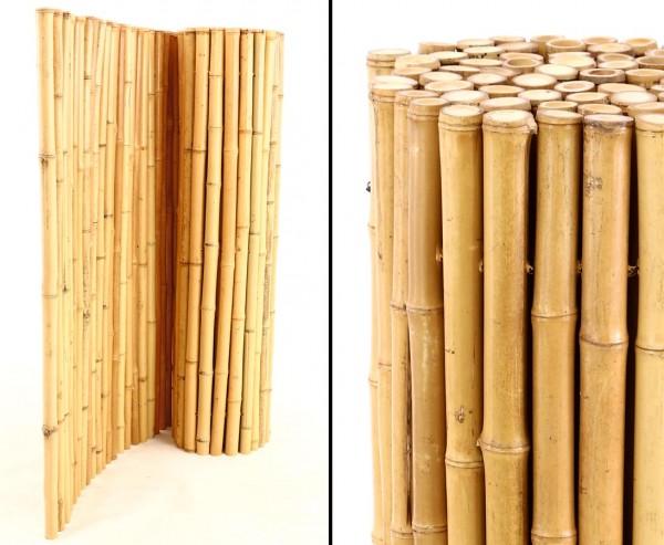 """Wandverkleidung Bambusmatte """"Bali Heavy"""" mit 90 x 250cm"""