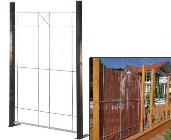 """Montagerahmen für Sichtschutzmatten, """"Nizza"""" 177 x 120cm"""