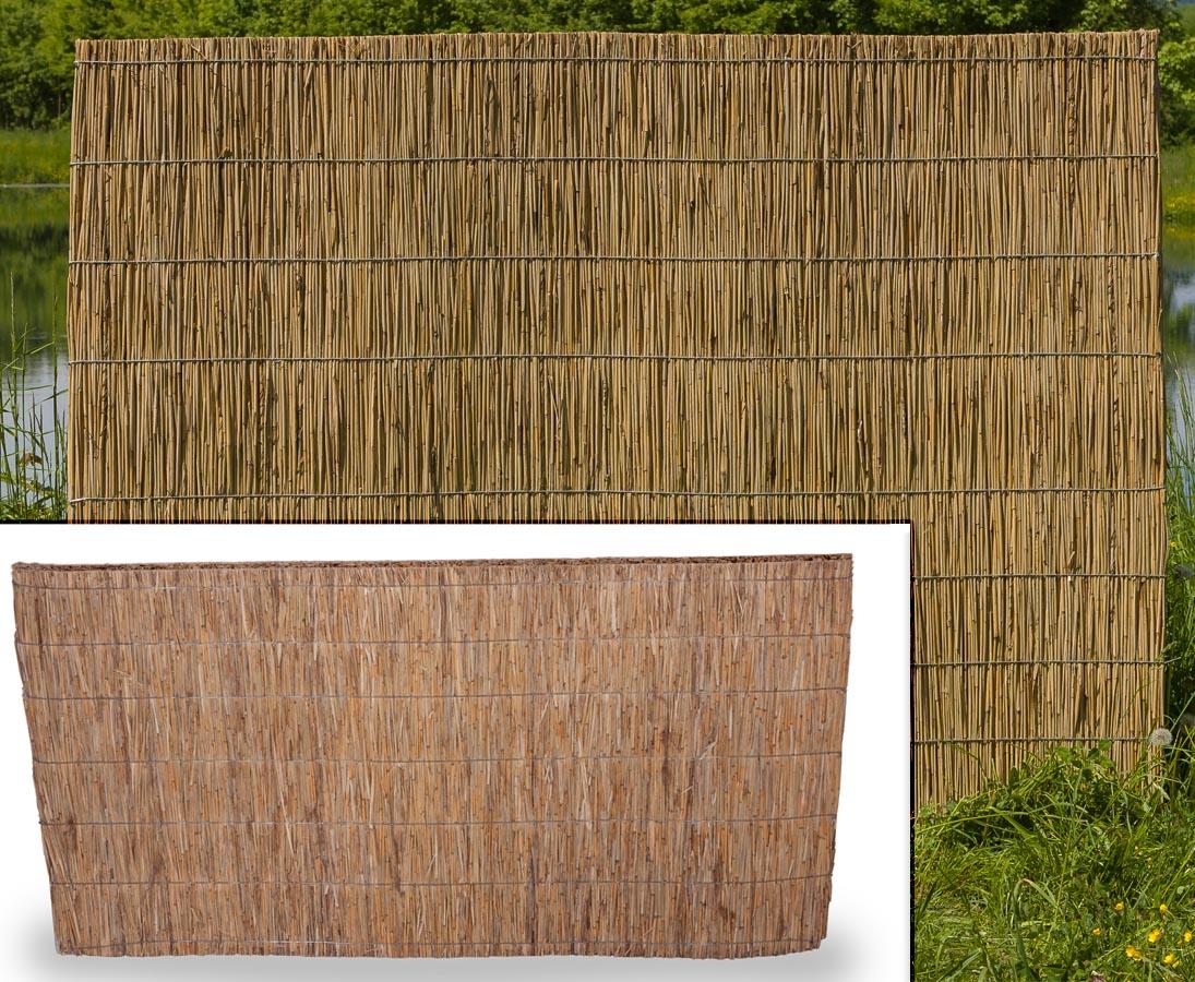 Sichtschutz Camping Garten Terrasse Weidenmatte 180 X 500 Cm