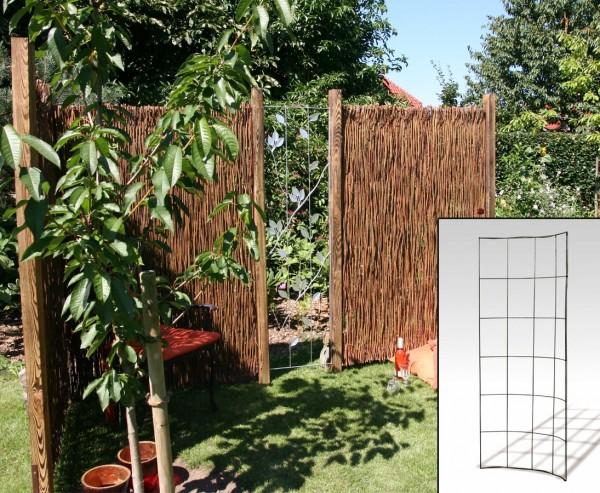 "Zaunsystem 45° gebogen ""Barcelona"" 175 x 90cm"