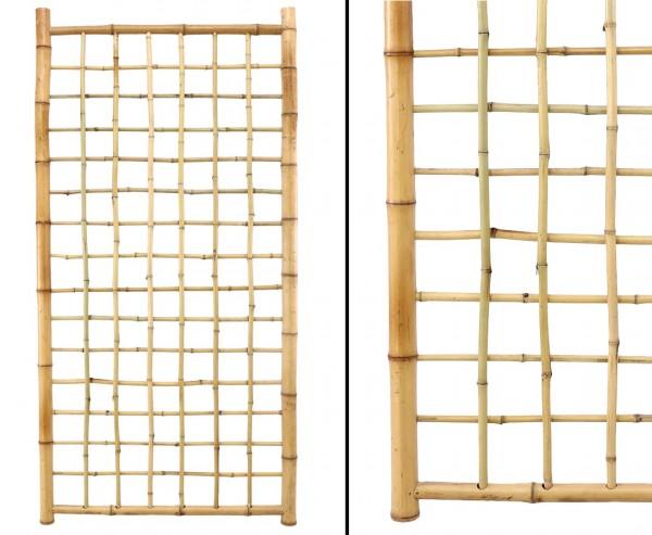 """Bambus Rankgitter """" TEN New Line4"""" 180 x 90cm mit 20 Rohren"""