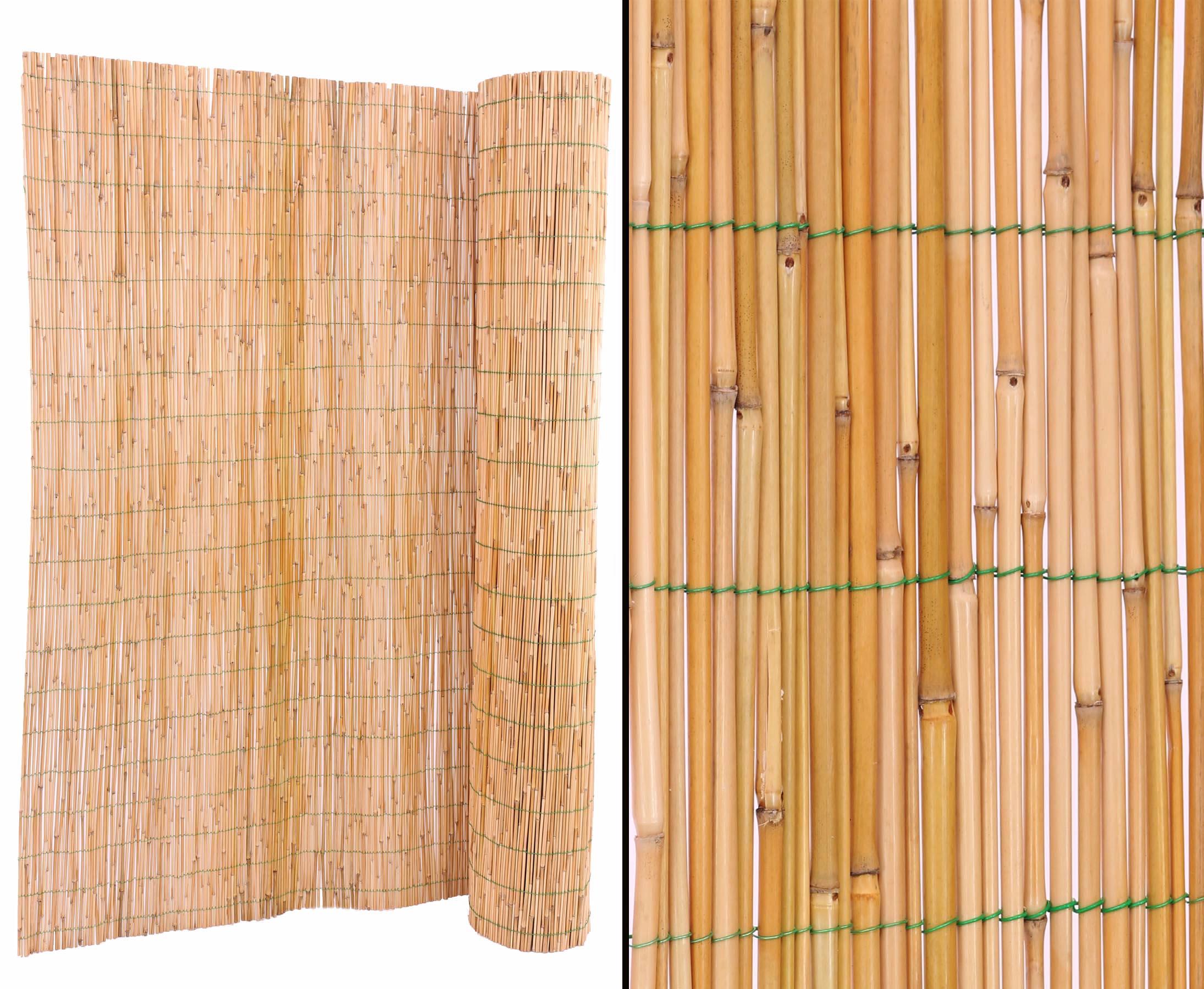 Schilfrohrmatten Mit 160x600cm Als Garten Sichtschutz Gunstig Und