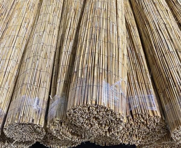 Bambusmatte Rio 150 x 500cm günstig da B-Ware Bambus Sichtschutz
