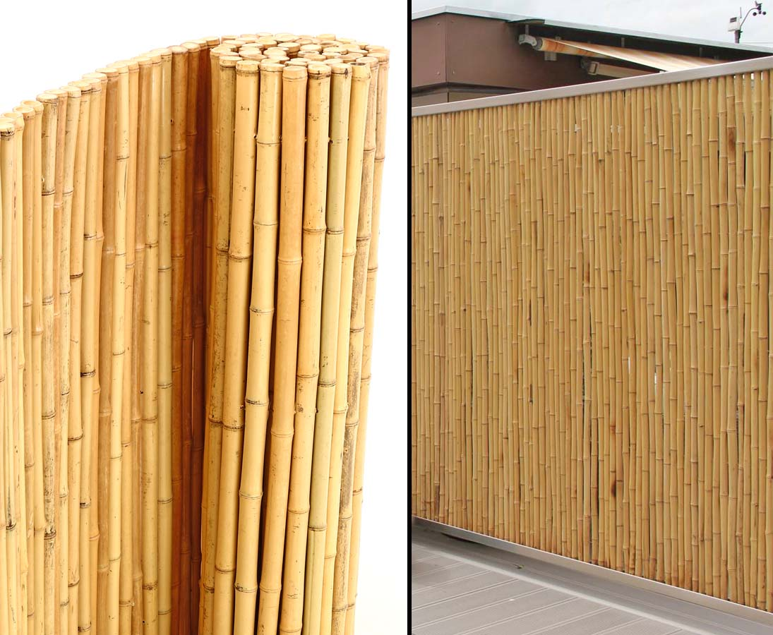 Bambusmatten Fur Gartenzaun 180x250cm Gunstig Kaufen