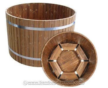 Badefass Standard mit einem Durchmesser von 150cm