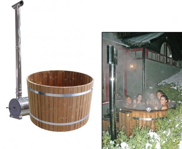 Hottube Set1 Standard mit Holzofen, Durch. 150cm