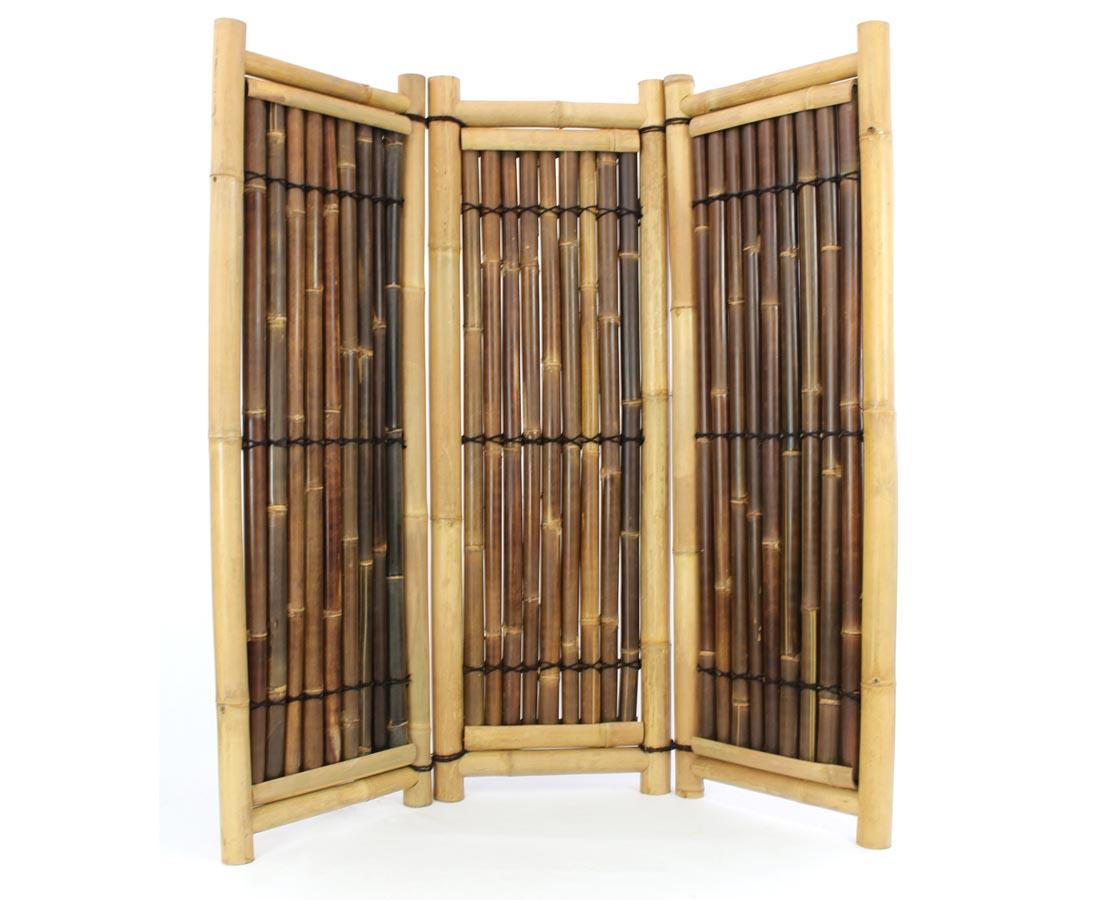 Asiatische Raumteiler aus Bambus - bambus-discount.com