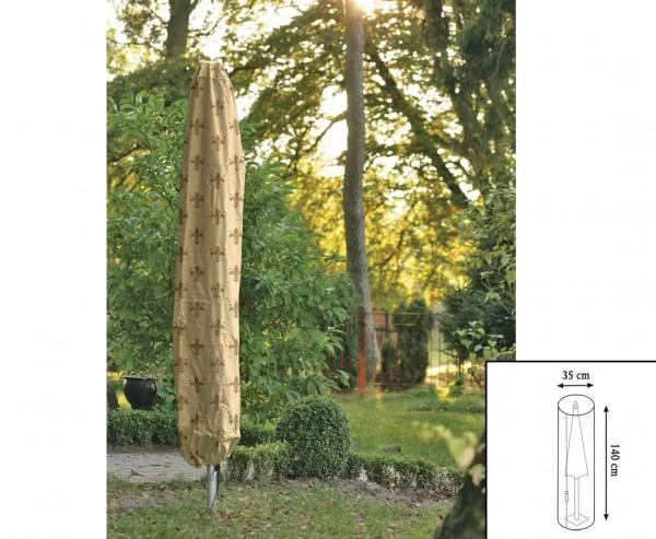 """Schutzhülle """"Cover"""" Lilie, für Sonnenschirm, mit 140cm und einem Durch. von 35cm, beige"""