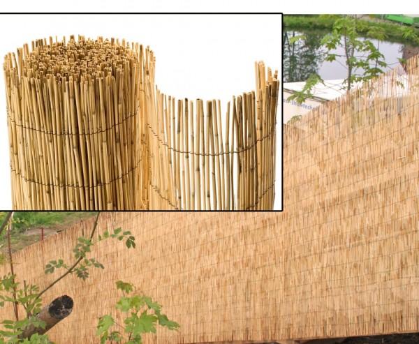 Bambusmatte Rio eco Modell, Bambus Sichtschutz günstig mit 150 x 500 cm