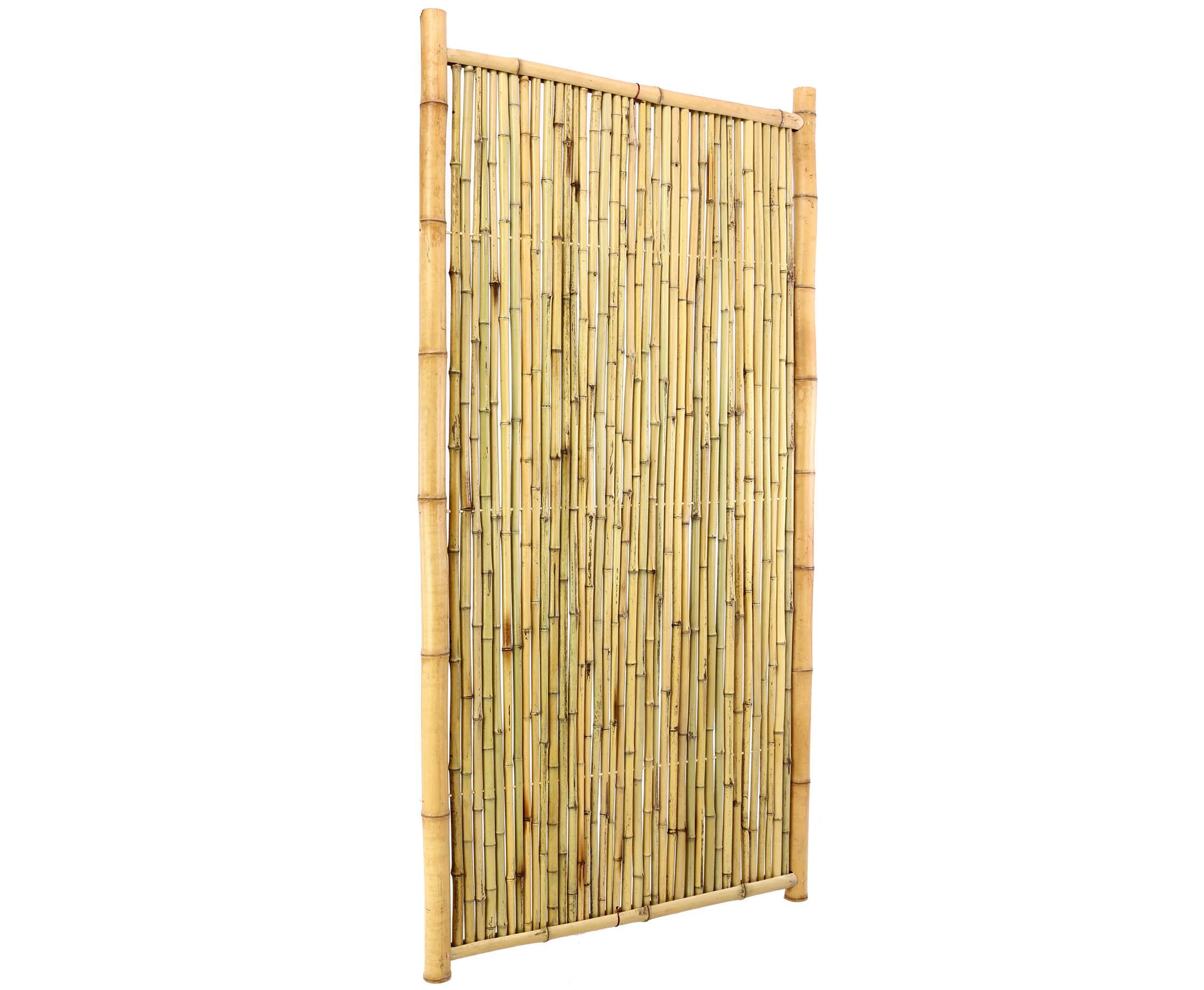 Bambus Sichtschutzzaun Geschlossen 180x120cm Bestellen