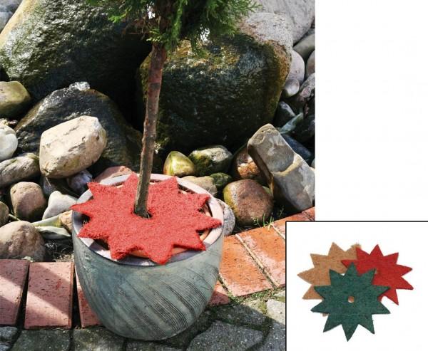 Topfabdeckung CocoStern, Durch. 40cm, rot