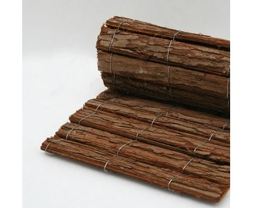 "Bastelmatte ""Rindenholz"" 30 x 100cm"