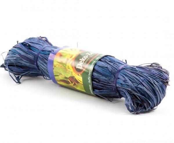 Naturbast blau, 100cm lang