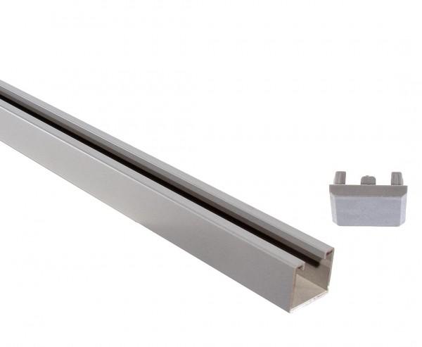 System U-Montageprofil silber mit 105cm