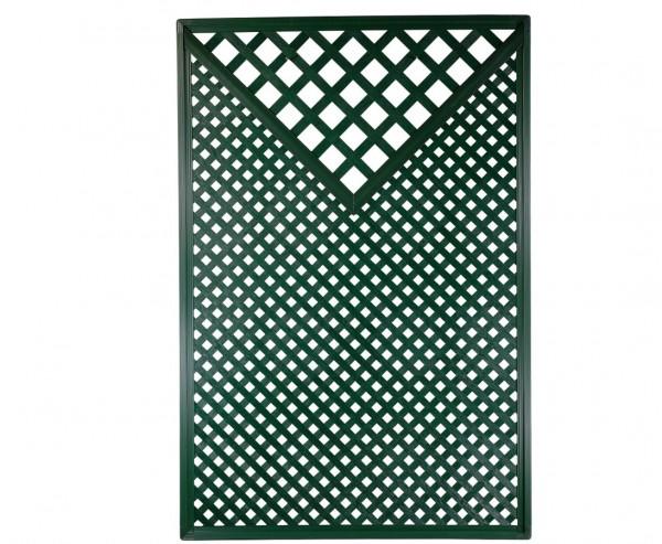 """Sichtschutz Terrasse Coventry, """"Diamant"""", mit Dreieck, 185 x 125cm, grün"""
