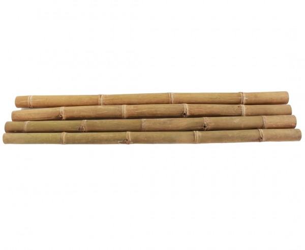 Riesenbambus Petung 200cm gelb braun mit Durch. 9 bis 13cm, behandelt mit Borsalz