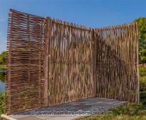Haselnusszaun Sommer kaufen auf bambus-discount.com