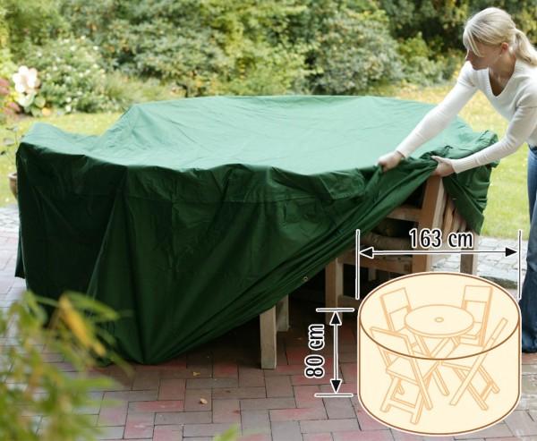 """Schutzhaube """"Cover"""", für Tischgruppe rund, Höhe 80cm, Durch. 163cm, grün"""