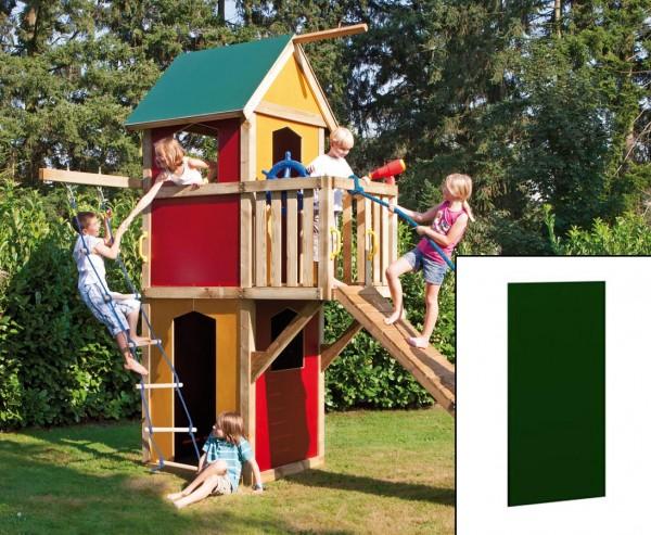 Wandelement geschlossen für Winnetoo, grün mit 90x138cm