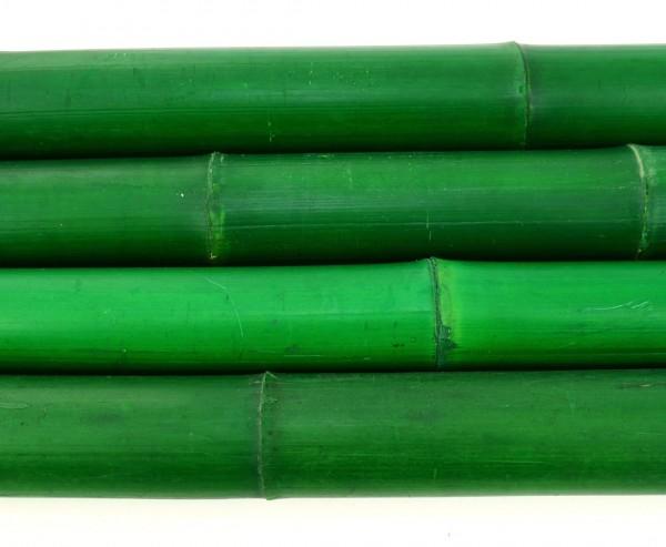 Bambusrohr grün gefärbt Durch. 7,8 bis 10cm mit Länge 600cm