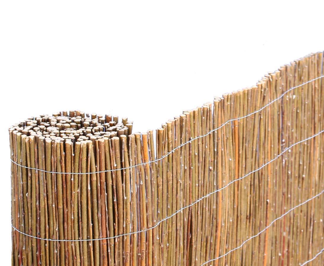 Naturmatte Weide 150cm Als Zaunverkleidung Ganz Einfach Ordern