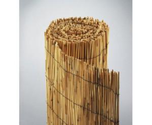 Sichtschutzmatte aus Bambus