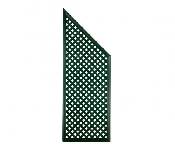 """Garten Sichtschutz Coventry """"Diamant"""", Abschlußelement, 185 x 65cm, grün"""