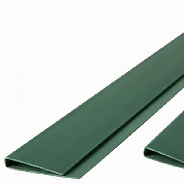Abdeckprofil für Kunststoffmatten der eco Serie grün farbig, Länge 200cm
