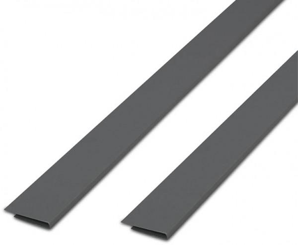 Abdeckprofil silber für Kunststoffmatten der eco Serie, Länge 200cm