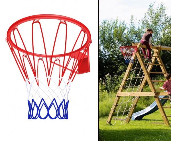 Basketballkorb mit Durch. 45cm für Spielturm