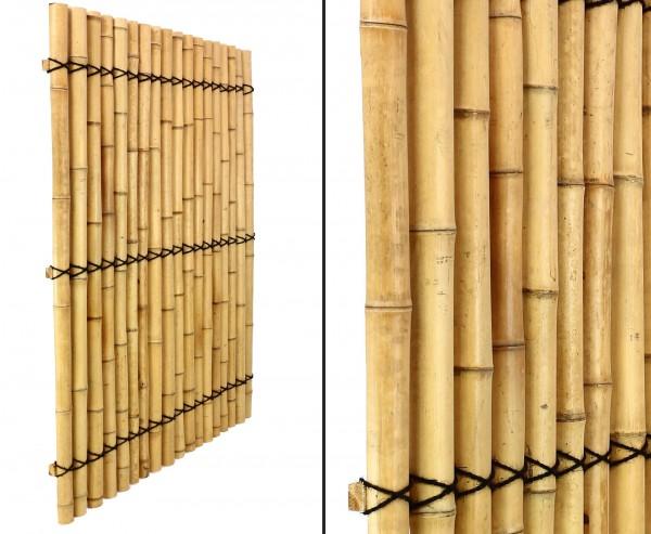 "Bambus Element ""Apas16"" 150 x 120cm, halbe Rohre mit 6 bis 8cm"