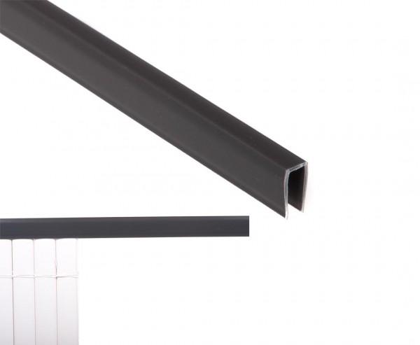 Kunststoffmatten U-Profil, Länge 150cm, für Sylt und Rügen, anthrazit