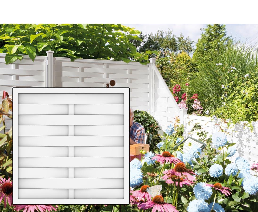 Lamellenzaun 90x90 Fur Kreativen Zaun Bau Einfach Online Kaufen