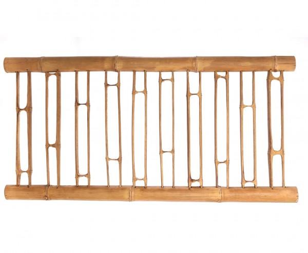 Bambus Zaun Geländer aus aufgeschnittene Bambusrohren mit 90x180cm