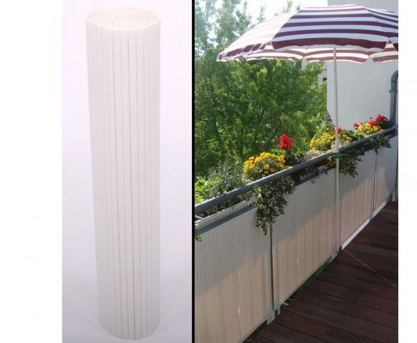 """PVC Matten """"Sylt"""" mit 120 x 300cm, weiss"""