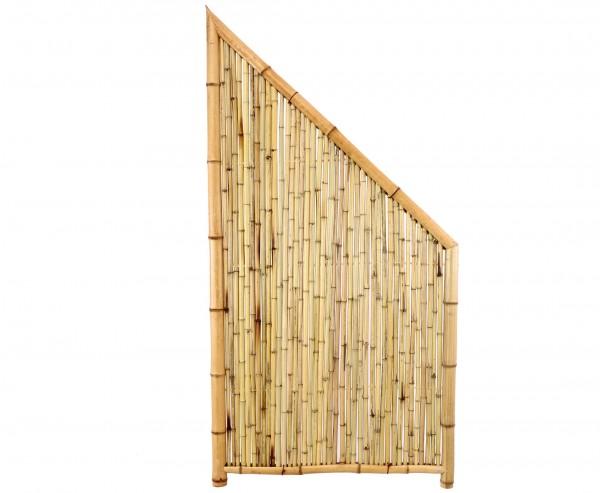 """Bambuswand """"TEN"""" Abschlusselement mit Höhe 180/90 x Breite 90cm"""
