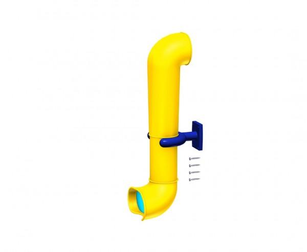 Spion aus Kunststoff, gelb-blaues Fernrohr