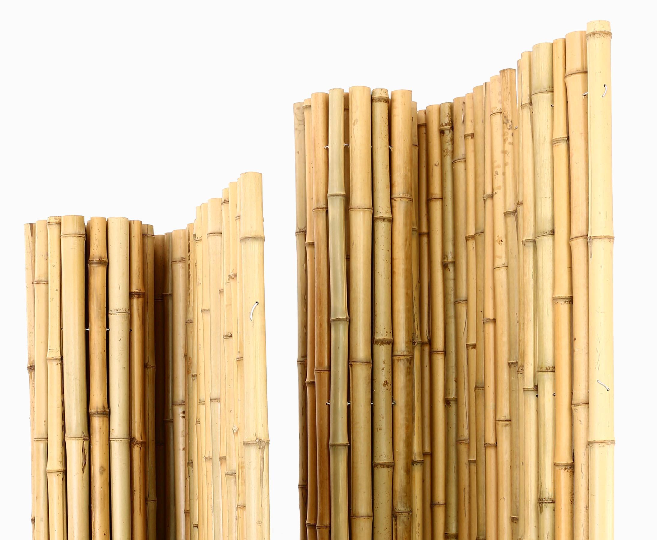Bambusmatte Mit Dicken Rohren 5cm Hohe 150cm Hier Kaufen