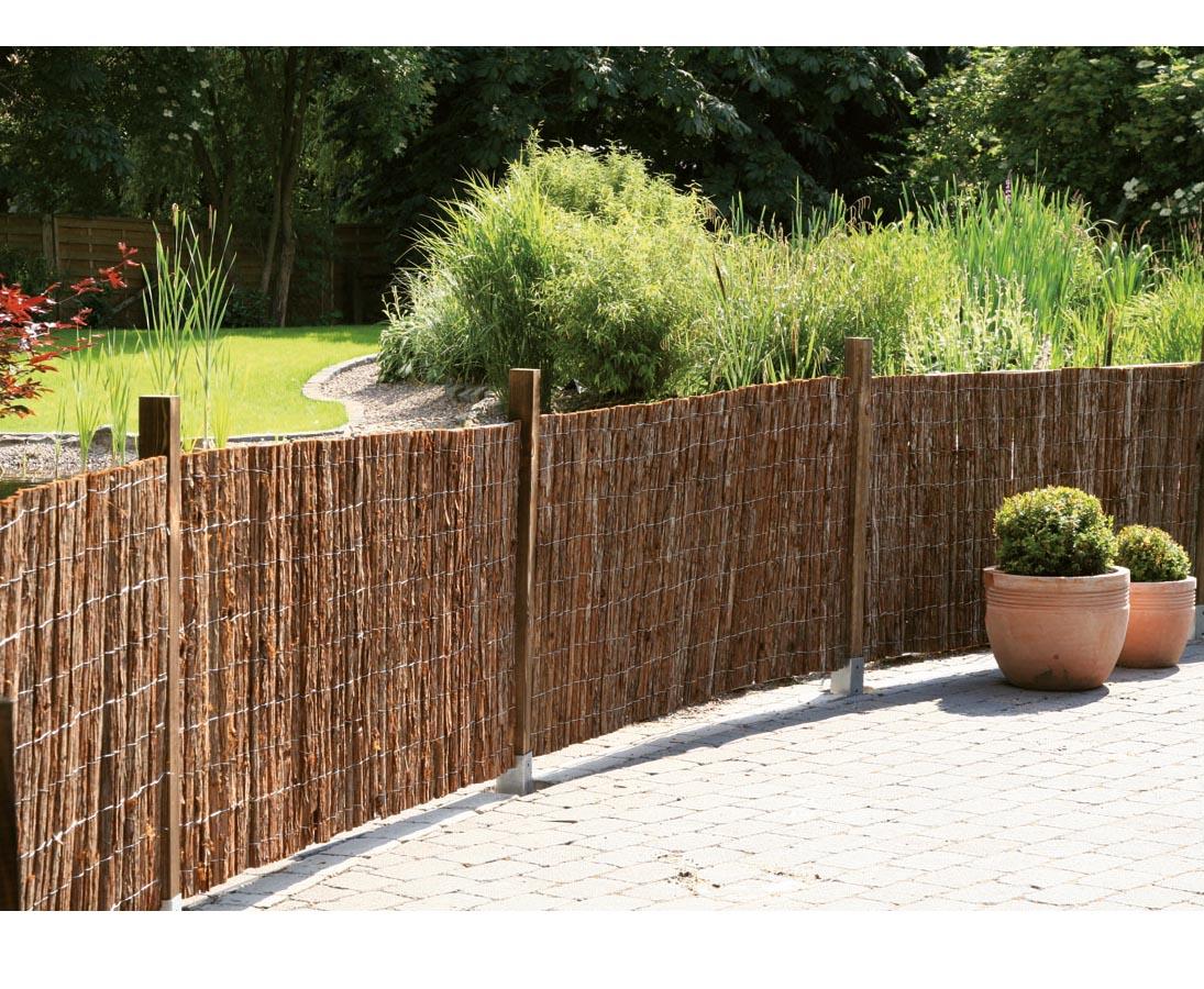 Zaun Einfach Bestellen Und Selber Bauen Mit Montagegitter Gerade