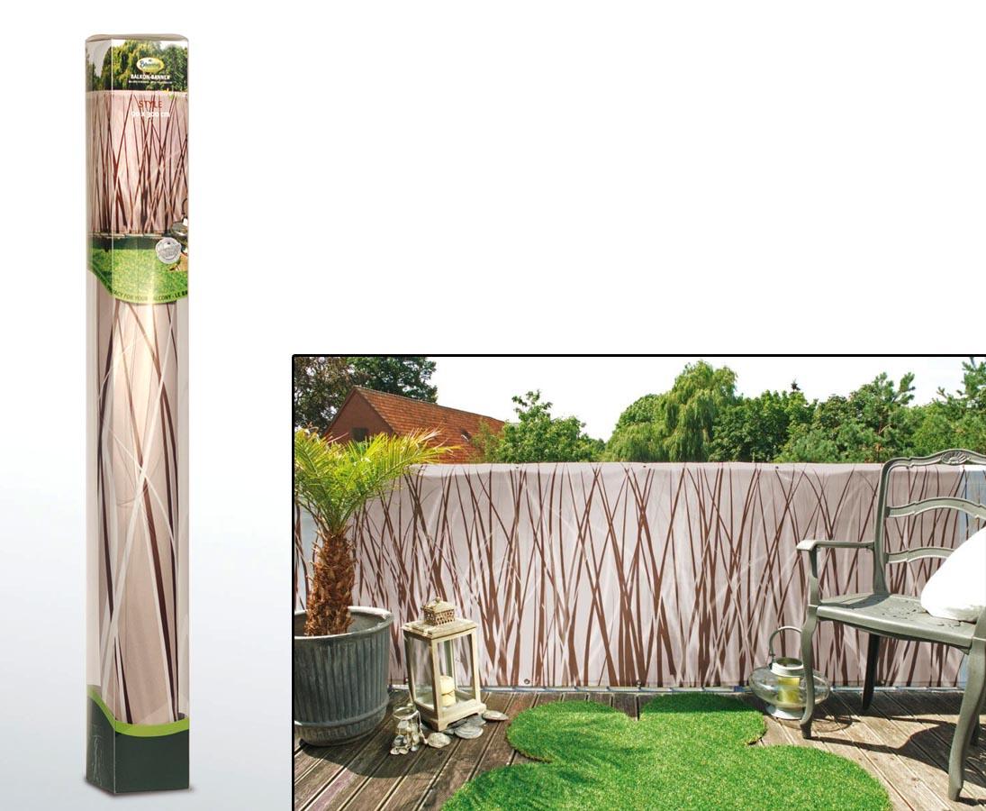 Balkonsichtschutz Mit Einem Stil Motiv Gunstig Kaufen