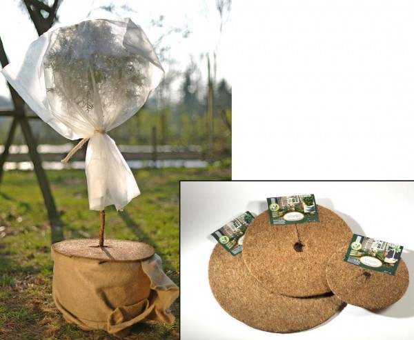 Topfabdeckung, CocoDisc, Durchmesser von ca. 37cm, natur