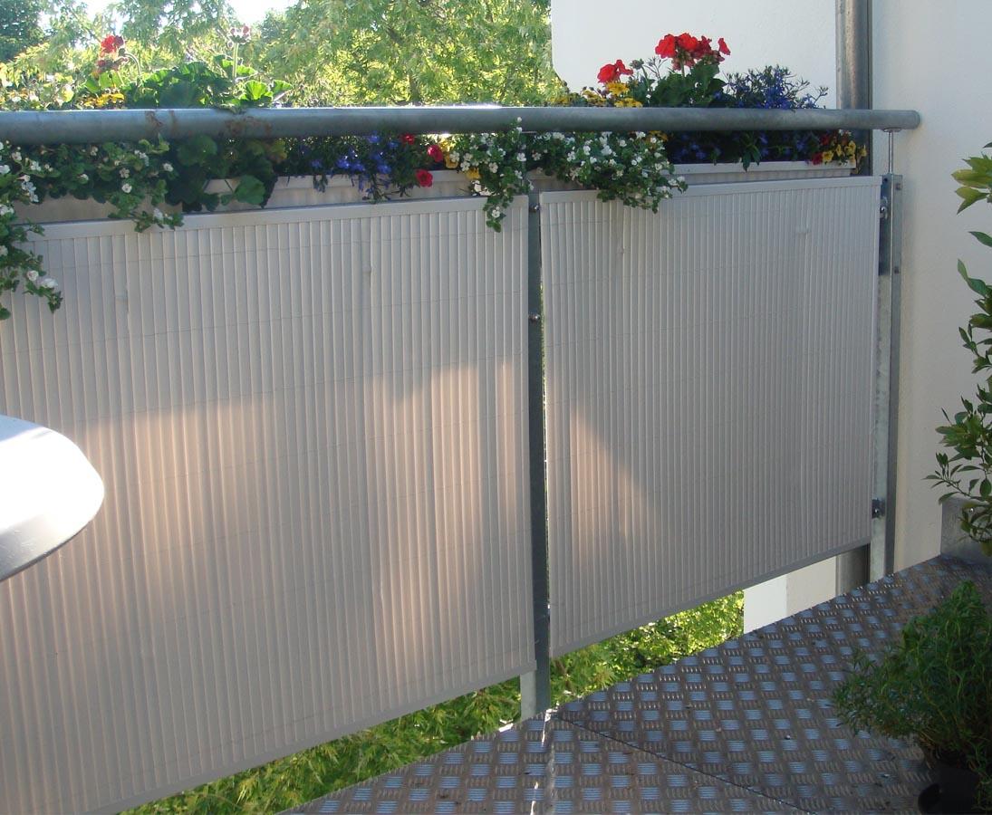 Balkon Sichtschutz Sylt Mit 140 X 300cm Weiss Online Bestellen