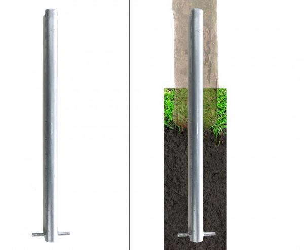 Bodenanker für Befestigung von Haselnusswänden, Länge 60cm, Durch. 3,4cm