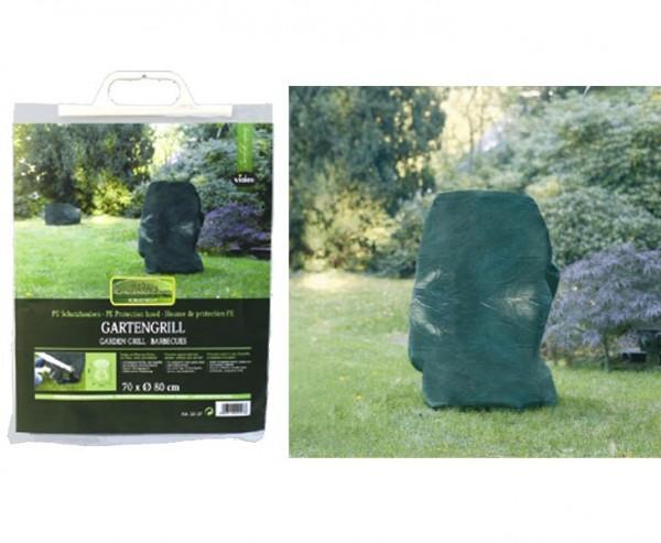Schutzhaube für Gartengrill, PE Material, Höhe 65cm und einen Durch. vonv 75cm, grün